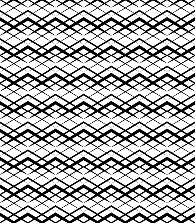 grid pattern: Simple monochrome grid, mesh pattern. Seamlessly repeatable. Illustration