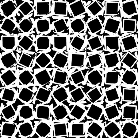 chaotic: Chaotic background. Chaotic geometric background with random scattered shapes. Abstract monochrome artistic background, texture.