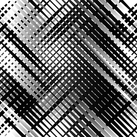 irregular: Grid, mesh with irregular lines. Abstract monochrome background, pattern.