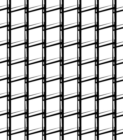greyscale: Simple monochrome grid, mesh pattern. Seamlessly repeatable. Illustration