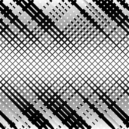 greyscale: Grid, mesh with irregular lines. Abstract monochrome background, pattern.