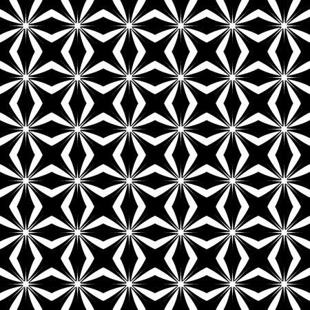 Abstracte herhaalbare achtergrond, patroon. Monochrome vector textuur.