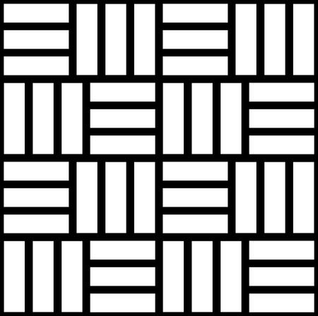 grid pattern: Simple monochrome grid, mesh pattern. Seamlessly repeatable. Illustration