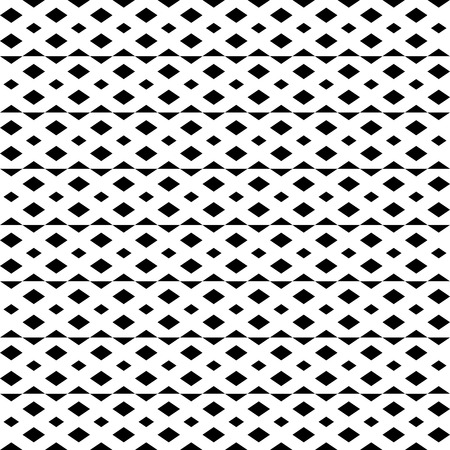 grid pattern: Irregular grid, mesh seamlessly repeatable monochrome pattern. Abstract geometric texture. Illustration