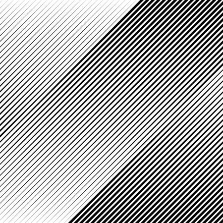 Oblicua, líneas diagonales modelo nervioso, fondo blanco y negro.
