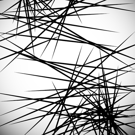 intersecting: Intersecting lines abstract geometric artistic monochrome illustration