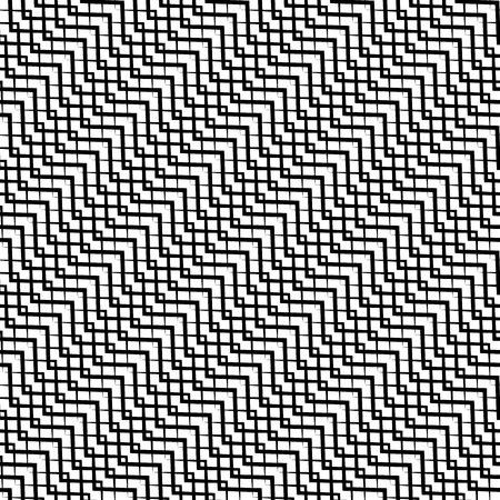 zig: Repeatable pattern with wavy, zig zag lines