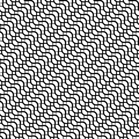 billow: Repeatable pattern with wavy, zig zag lines