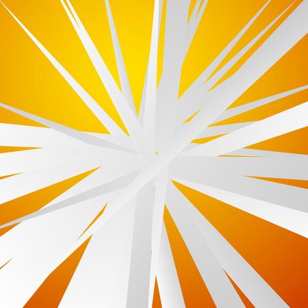 irregular: Radial, radiating irregular, grungy lines abstract background