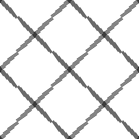 abstractionism: Seamlessly repeatable geometric pattern - Abstract monochrome background, texture