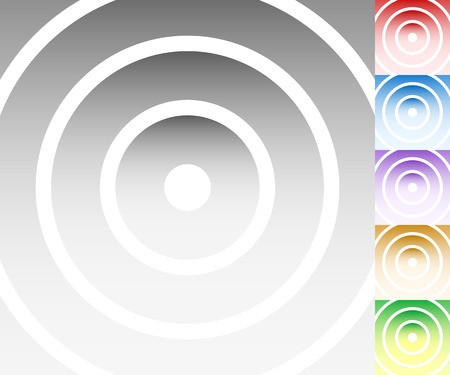 livid: Colourful background set with circle, oval shapes Illustration