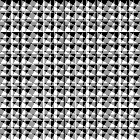 asymmetric: Chaotic, irregular repeatable geometric pattern. Mosaic of asymmetric shapes. Monochrome abstract background.