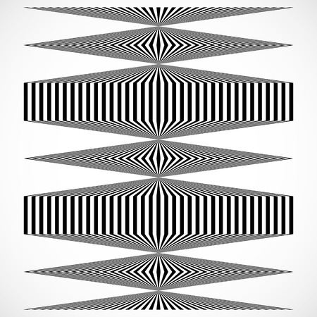 squeeze shape: Geometric structure of vertical lines, stripes. Abstract monochrome element