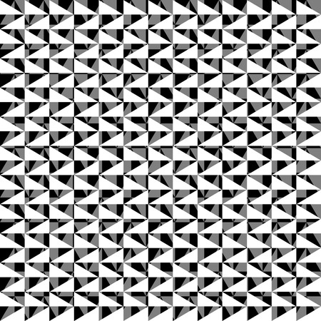 harsh: Chaotic, irregular repeatable geometric pattern. Mosaic of asymmetric shapes. Monochrome abstract background.