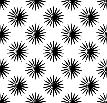 repetitive: Repetitive pattern with radial-radiating lines. Abstract geometric monochrome background. Intersecting lines texture. Illustration