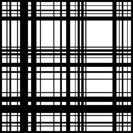 perpendicular: Grid, mesh of intersecting lines. Abstract monochrome background, seamlessly repeatable pattern. Irregular, random lines pattern.
