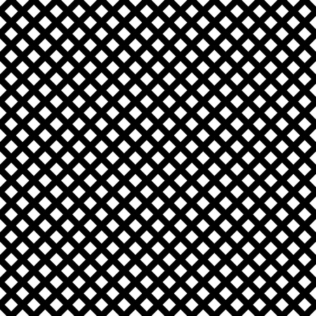 grating: Grid, mesh of intersecting lines. Abstract monochrome background, seamlessly repeatable pattern. Regular grid, mesh, cellular, grating, grill pattern, reticulated texture.