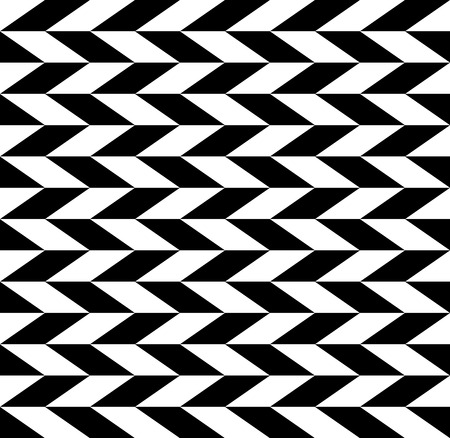 eyestrain: Checkered seamless pattern with alternating parallelogram. Optical illusion, contrasty background