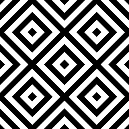 repeatable: Repeatable geometric pattern. Abstract monochrome angular background.