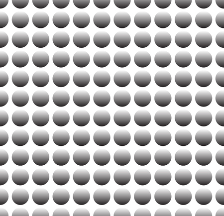 perforated: Simple industrial perforated surface pattern template. Carbon, metal sheet (Repeatable) Illustration