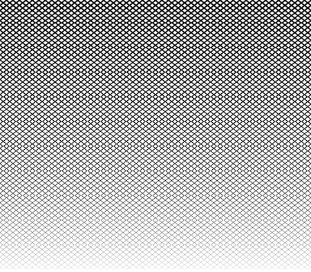 grillage: Grid, mesh monochrome abstract repeatable pattern with intersecting irregular wavy, zigzag lines (seamlessly repeatable horizontally)