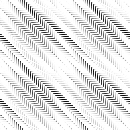 parallel: Wavy diagonal parallel lines. seamless, repeatable monochrome pattern.
