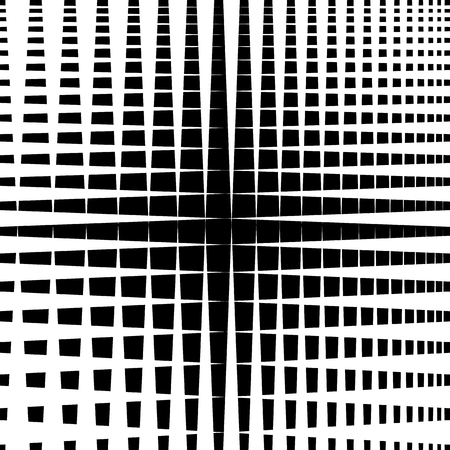 intersecting: Rippled grid, mesh - Intersecting lines texture, abstract monochrome geometric pattern.