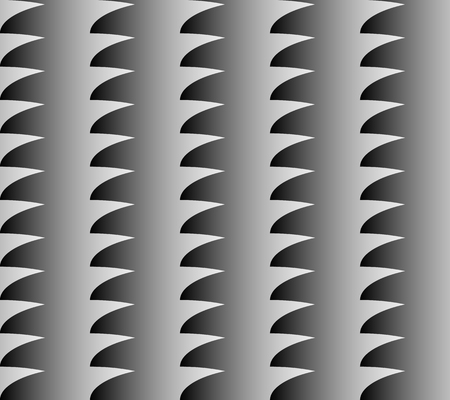 crinkly: Geometric pattern with grayscale fill. Seamlesly repeatable. Abstract monochrome background.