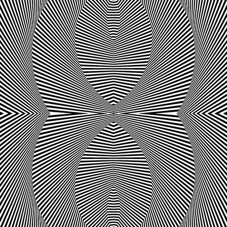 deceptive: Abstract geometric pattern, monochrome background. Repeatable texture. Illustration