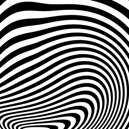 mesmerize: Curvy irregular dynamic lines. Abstract geometric pattern.