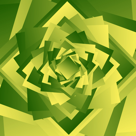 crystallization: Colorful bright texture-pattern with overlapping squares. Background with asymmetric geometry.