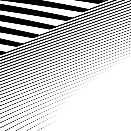 crinkle: Lines with distortion. Edgy, wavy lines monochrome geometric pattern.