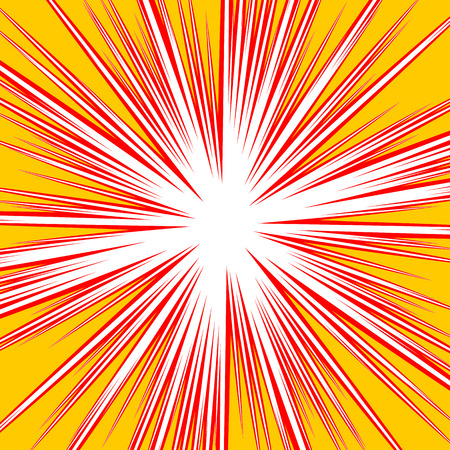 intersecting: Bursting radial lines dutone explosion effect. Starburst, sunburst element.