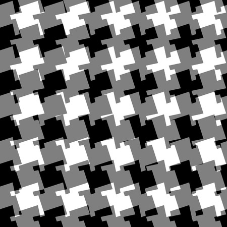 greyscale: Seamless geometric background. Abstract repeatable monochrome pattern  texture. Illustration
