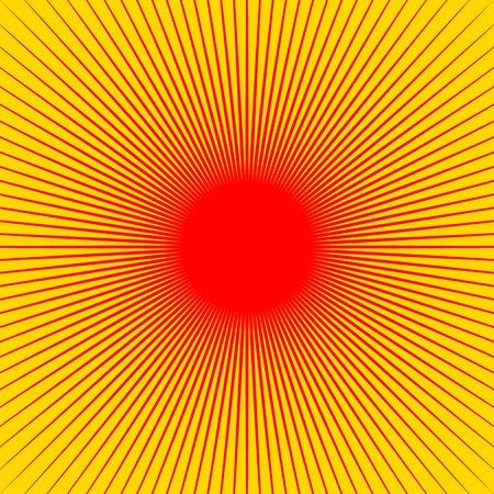 Radiating lines starburst pattern. Radial rays, beams.