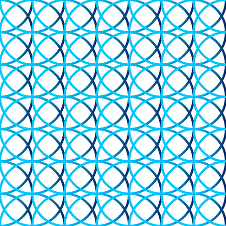 intersecting: Colorful repeatable background with intersecting circles. Seamless.