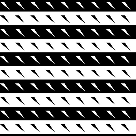 monocrome: Seamless geometric background. Abstract repeatable monochrome pattern  texture. Illustration