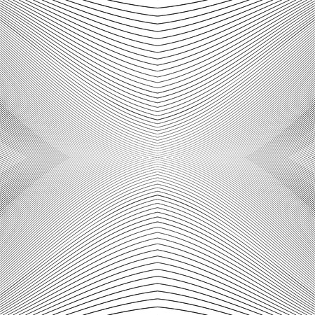 camber: Repeatable geometric pattern with distorted irregular dynamic lines. Illustration