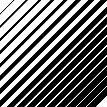 intensity: Dynamic diagonal lines pattern. Parallel straight lines with irregular width. Gradation, halftone background Illustration