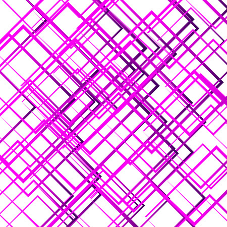 intersecting: Random intersecting lines, squares. Modern colorful geometric texture, monochrome pattern.