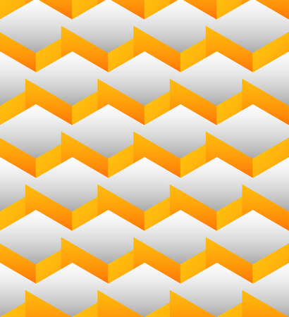 Cubes seamlessly repeatable pattern, 3d geometric background.