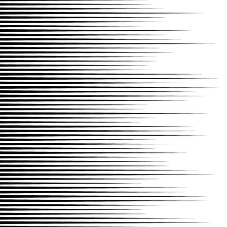 horizontal lines: Monochrome lines pattern, vertically seamless. Straight parallel horizontal lines, abstract illustration Illustration