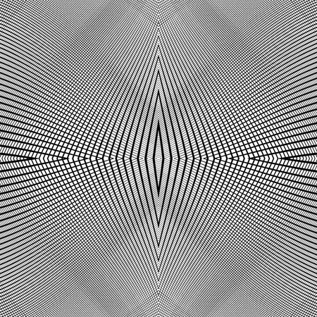 reticulation: Grid of dynamic lines. Seamlessly repeatable mesh pattern. Distorted, warped cellular, reticulated background. Illustration