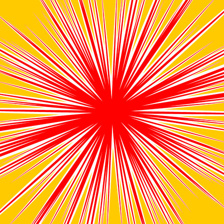 asymmetric: Bursting radial lines dutone explosion effect. Starburst, sunburst element.
