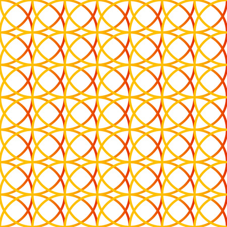 Colorful repeatable background with intersecting circles. Seamless.