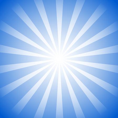 Monochrome sunburst background. Radial lines explosion effect.