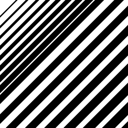 halftone: Dynamic diagonal lines pattern. Parallel straight lines with irregular width. Gradation, halftone background Illustration