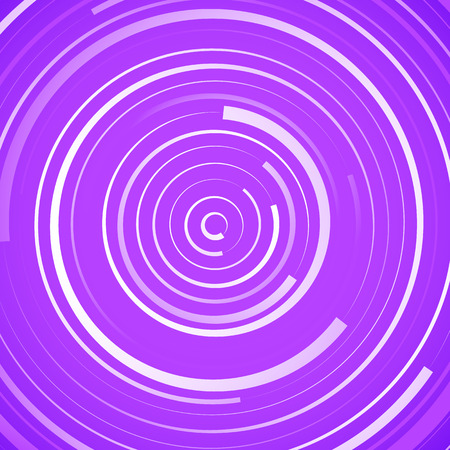 circulos concentricos: Colored spiral pattern. Concentric circles with irregular, dynamic lines. Vectores