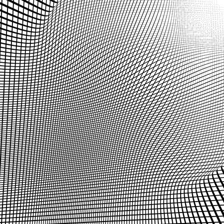 grid pattern: Dynamic lines grid. Monochrome geometric pattern, abstract texture