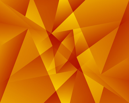 crystallization: Colorful geometric pattern. Triangular shapes blended. Abstract monochrome background.